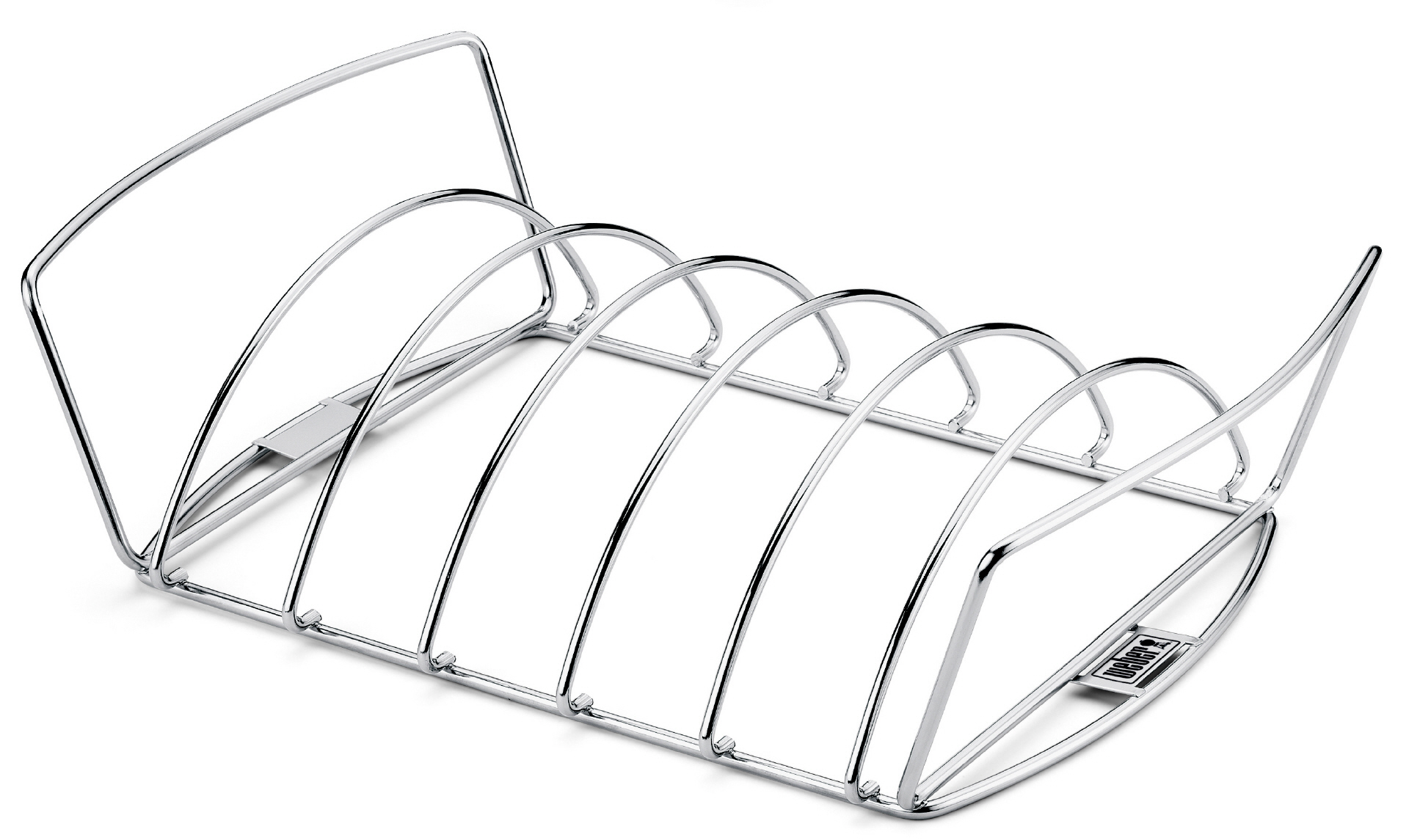 weber spare rib halter bratenkorb. Black Bedroom Furniture Sets. Home Design Ideas