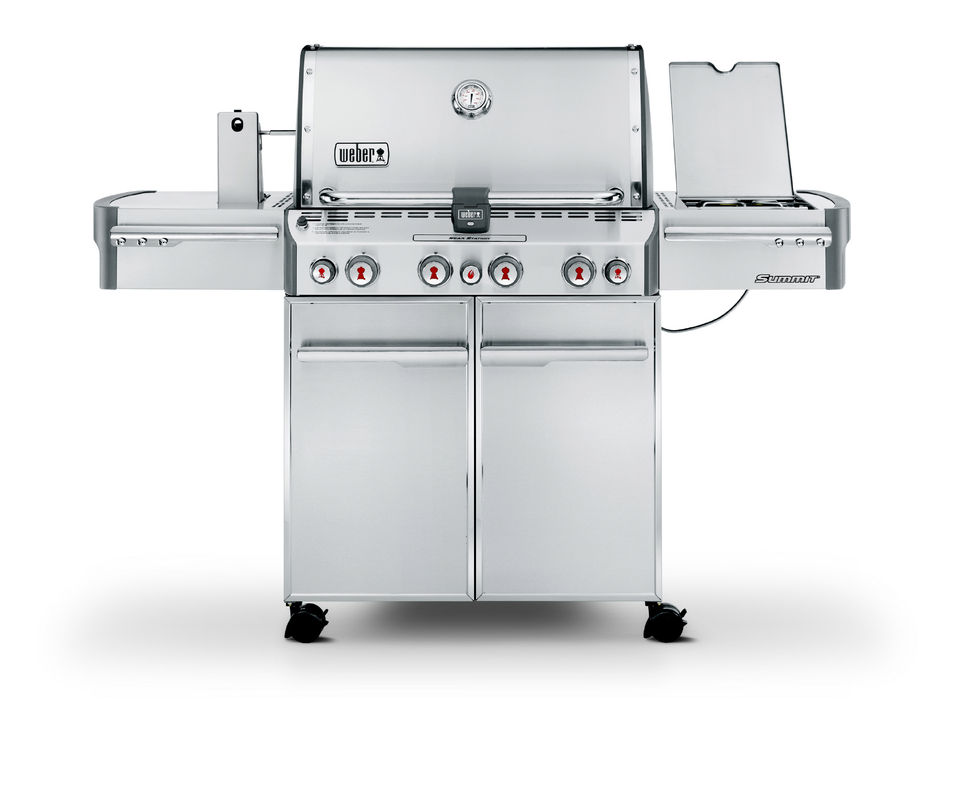 Weber Holzkohlegrill Summit : Weber summit s gbs edelstahl grill